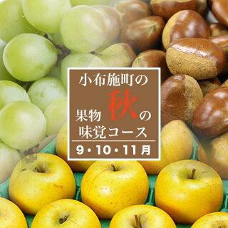 長野県小布施町秋の味覚コース