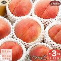 【ふるさと納税】なつっこ(白桃)約3kg