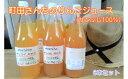 【ふるさと納税】 町田さんちのりんごジュース サンふじ果汁1...