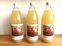 【ふるさと納税】信州飯綱町りんごジュース1000mL×3本【飲料果汁飲料りんご】