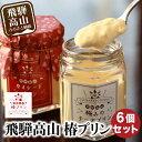 【ふるさと納税】飛騨高山 椿プリン 6個 プリン 瓶入り カ