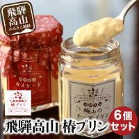 飛騨高山椿プリン(カスタード・チーズ・地酒粕・ほうじ茶・黒ごま・小豆抹茶)a515