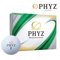 PHYZファイズゴルフボールホワイト1ダースT24-01