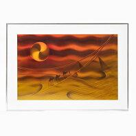 【ふるさと納税】M311S02 スピンアート 砂漠