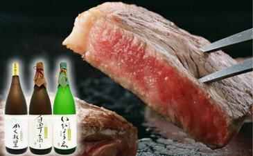 【ふるさと納税】2-1 厚切り!飛騨牛サーロインステーキ300g×3枚 + 厳選日本酒1.8L×3本