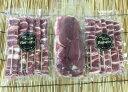 【ふるさと納税】B-004 カモ肉バーベキューセット(もも串20本、ロース肉1ブロック約400g)