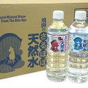 【ふるさと納税】飛騨のさるぼぼ天然水(鉱水)500ml×24本[B0122] 1
