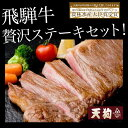 【ふるさと納税】飛騨牛ステーキセット飛騨牛ヒレステーキ1枚、飛騨牛サーロインステーキ1枚
