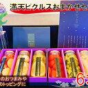 【ふるさと納税】満天ピクルスおまかせ6本セット 【漬物・缶詰・加工食品】