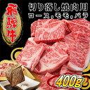 【ふるさと納税】【飛騨牛】切り落し焼肉用【400g/岐阜県産】 【お肉・牛肉・焼肉・バーベキュー】