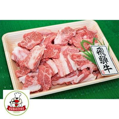【ふるさと納税】【#元気いただきますプロジェクト】やまちゃん飛騨牛焼肉切り落とし 約1kg【1123097】