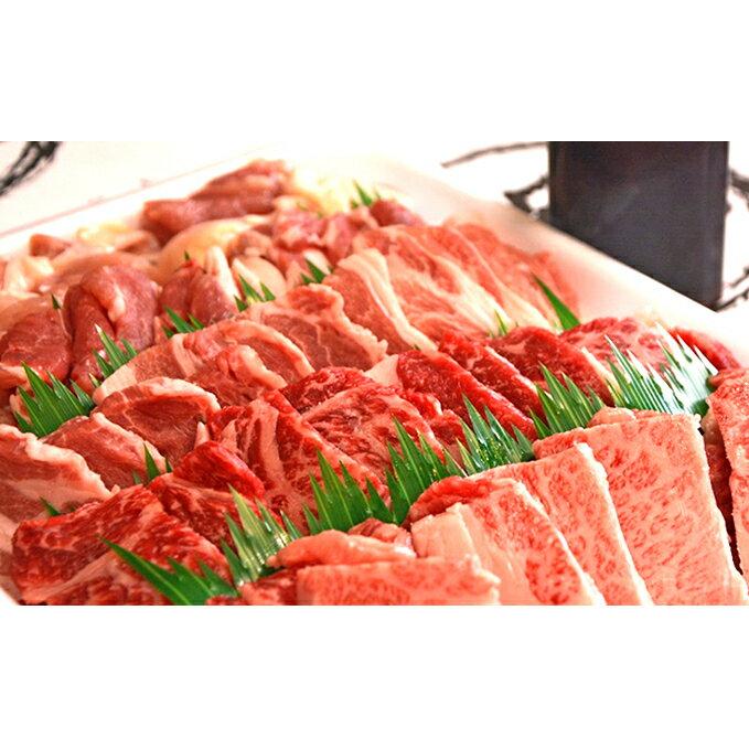 やまちゃん焼肉セット 計約1kg(オリジナルタレ付き) [お肉・牛肉・ロース]