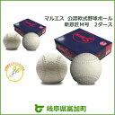 【ふるさと納税】マルエス公認軟式野球ボールM号2ダース試合球...