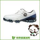 【ふるさと納税】ジェネム008ボア EEE(ゴルフ)[メンズ]ホワイト・ブルー