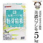 美濃ハツシモ胚芽精米5kg令和元年度産
