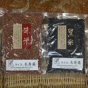 赤米&黒米セット(200g×5袋×2種類)健康ごはんお米セット