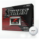 【ふるさと納税】ゴルフボール スリクソンZ-STARXV(ホワイト・3ダースセット36球)