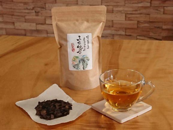 【ふるさと納税】※自然栽培里山のお茶三年晩茶2袋(100g×2)