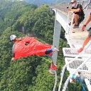 【ふるさと納税】 日本一 バンジージャンプ 高さ215m 体験割引チケット 9,000円分 岐阜バンジー