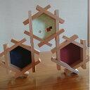 【ふるさと納税】 かざり組子 体験型 六角形 3個組 国産杉 縁起物 杉 スギ 工芸品 送料無料