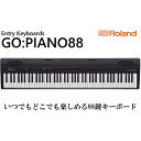 【ふるさと納税】【Roland】88鍵電子キーボード GO-88P【配送不可:離島】 【雑貨・日用品・音楽機器】