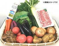 【ふるさと納税】A−02−02.旬の野菜とお肉の詰め合わせ