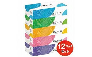 【ふるさと納税】エリエールティシュー180W5P×12パック(60箱)