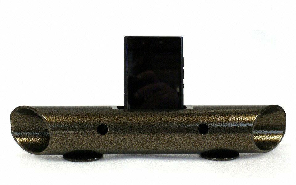 【ふるさと納税】マグネシウムチューブ製スマートフォン用無電源スピーカー バイオン-Mg60