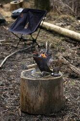 【ふるさと納税】焚き火台 コンパクト ANCAM(アナキャン) 組立式焚き火台「FIRE WHIRL」Sサイズ 静岡県富士宮市 画像2