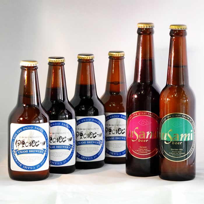 【ふるさと納税】宇佐美麦酒製造ビール全6種類×5本(30本セット):静岡県伊東市