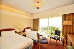 【ふるさと納税】川奈ホテル1室2名様1泊朝食付ご宿泊+富士コース全日1ラウンドプレー