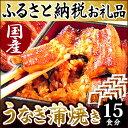 【ふるさと納税】楽天ランキング1位★静岡県 うなぎのたなか うなぎ蒲焼15食 国産うなぎ蒲焼き