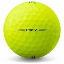 【ふるさと納税】しっぺいオリジナル ゴルフボール(タイトリスト PRO V1 イエロー) 画像1