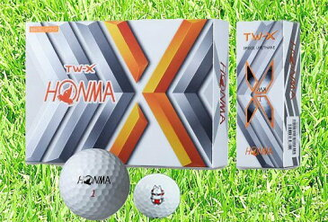 【ふるさと納税】しっぺいオリジナル ゴルフボール(HONMA TW-X)
