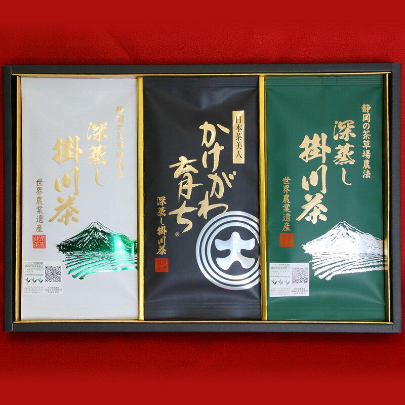 【ふるさと納税】深蒸し掛川茶三昧セット