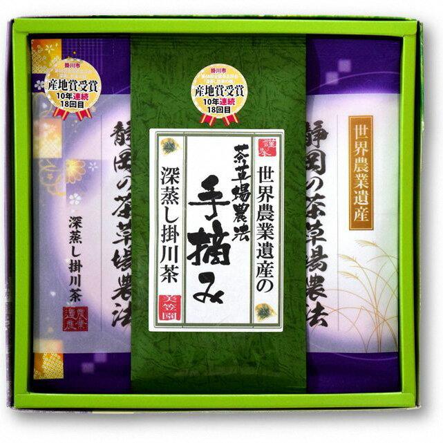 【ふるさと納税】世界農業遺産(茶草場農法) 深蒸し掛川茶セット