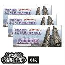 【ふるさと納税】020-001伊豆の国市宿泊感謝券(6枚)