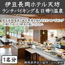 【ふるさと納税】010-031 伊豆長岡ホテル天坊 ランチバ...