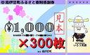 静岡県南伊豆町で買える「【ふるさと納税】[Za-22]南伊豆町ふるさと寄附感謝券300枚」の画像です。価格は1,000,000円になります。