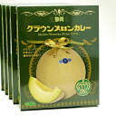 【ふるさと納税】静岡クラウンメロンカレー5箱セット 【加工食