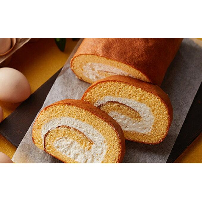 【ふるさと納税】烏骨鶏卵のロールケーキ1本とパウンドケーキのセット 【スイーツ・ロールケーキ・お菓子・焼菓子・パウンドケーキ】