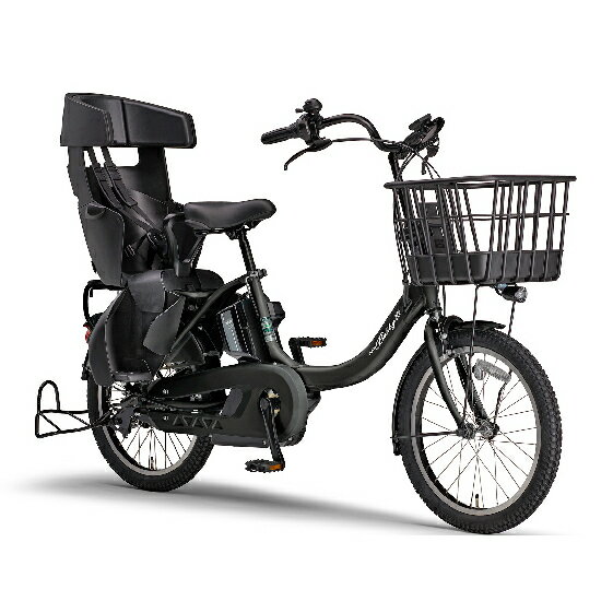 電動アシスト自転車 PAS Babby un SPリヤチャイルドシート 標準装備モデル マットブラック2 [電動アシスト自転車・日用品・自転車]