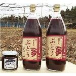 【ふるさと納税】岡崎駒立ぶどうジュース&ジャムセット【1200356】