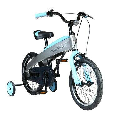 【ふるさと納税】メルセデス・ベンツ16型子供用自転車(MB-16)カラー:ライトブルー