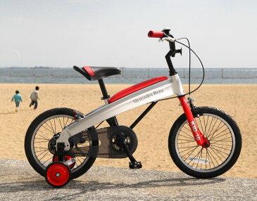 【ふるさと納税】メルセデス・ベンツ16型子供用自転車(MB-16)カラー:レッド