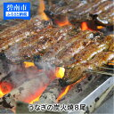 【ふるさと納税】創業大正九年 三河一色産うなぎの炭火焼 8尾 至福セット 日本料理 小伴天 H007-023