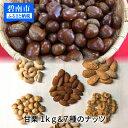 【ふるさと納税】甘栗1kg&7種のナッツ七福神セット H04...