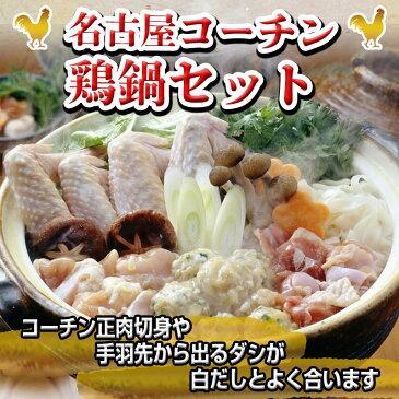 【ふるさと納税】名古屋コーチン 鶏鍋セット