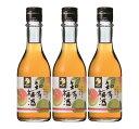 【ふるさと納税】知多梅酒300ml 3本