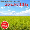 【ふるさと納税】 桑名米商 【令和2年産】桑名産コシヒカリ11kg(5.5kg×2袋)